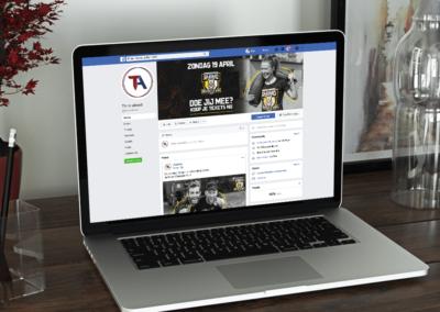 Vormgeving socialmedia Thinc Ahead